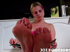 brunette, big tits, blonde, busty, big boobs, mistress, footjob, black hair, femdom, foot fetish