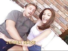Jenna haze takes a fat cock anal