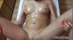 Big boobs amateur czech girl karol lilien nailed for money