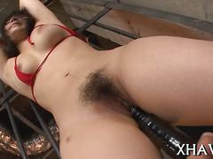 asian, hairy, japanese, blowjob, hardcore, dildo, masturbation, rope, more