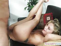 Slim dakota skye ride anally a big dick