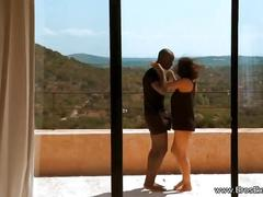 Exotic africa lovers engaed in sex