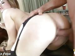 Blonde babe tara lynn foxx gets her ass blasted
