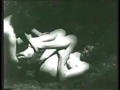 cumshot, facial, lesbians, outdoor, handjob, voyeur, vintage, black-and-white