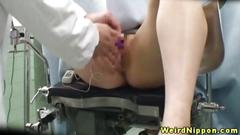 Japanese cutie fucked by her doctor