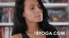anal, hardcore, ass, butt, fucking, teen, brunette, spandex, yoga, more