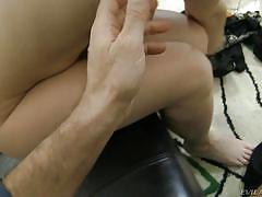 Busty babe handles rocco's dick with great care @ rocco's pov #20