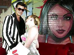Molly seduced a random guy @ molly's - wrecking ballz