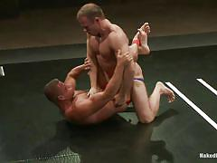 fighting, gay, naked combat, gay wrestling, naked kombat, kink men, tyler saint, ethan hudson