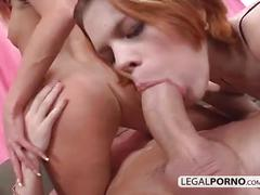 Two horny babes fucked in the ass gb-20-04