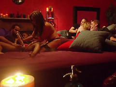 Swingers fuck under the candle light @ season 3 ep. 2