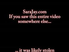 Sara jay's black cock and pussy 3way
