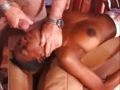 cum, interracial