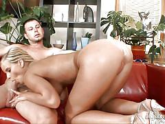 Mary queen gets her tight anus smashed @ spermbanks #13