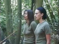 spanking, military