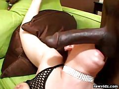 Tammie ryden enjoys a black and a white cock