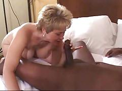Hot wife tracy fucking a huge black cock