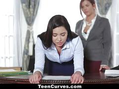Teencurves - keisha grey fucks submissive secretary karlee grey