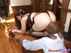 Mature milf foot and pantyhose fetish sex