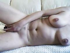 masturbation, toys, anal, verified amateurs, adult-toys, anal-fingering, naked, dildo-ride, strip-in-front-door, brunette, homemade, amateur, dildo, trimmed-pussy, big-boobs, busty