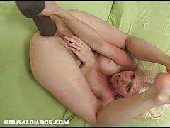 Nasty chick jada ass toying to the maximum