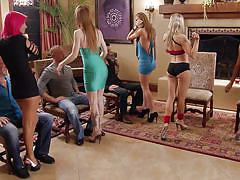 Three guys get a prime class lap dance @ season 4 ep. 1