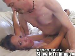 milf, reverse cowgirl, doggy style, shaved pussy, wife sharing, first time, missionary