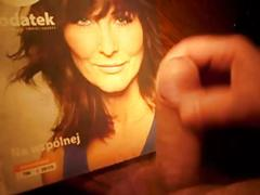 cumshot, sperm, facial, handjob, actress, masturbation, dick, balls, sperma, penis, poland, jaja, chuj, wronska