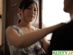 Horny karen saijyou rubbing her clit with cucumber