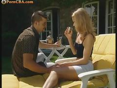 Outdoor ass fucking action with these cute chick