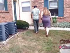 Busted neighbor's wife catches me recording her c33bdogg