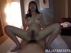 hairy, babe, riding, asian, busty, brunette, boob rubbing, cow girl, idols 69, all japanese pass, sumire takaoka