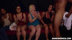 Lovely ladies are craving to suck that big fat dick