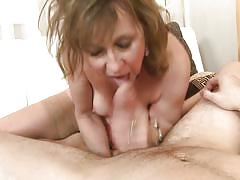 small tits, mature, blowjob, from behind, riding cock, ball sucking, pov, mature nl, danny xx