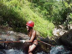 Climbing down the waterfalls @ season 3 ep. 6