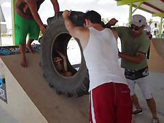 Tires riding and water sports @ season 3, ep. 5