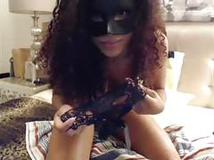 Hot masked cam girl pt. 2