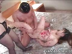 stockings, big, tits, hot, blowjob, doggystyle, threesome, lingerie, asian, latex, fishnets, bdsm, bondage, japanese, japan, ffm, rope, jav, wax, shibari