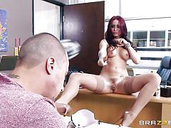 Monique alexander talks the school hottie into sex