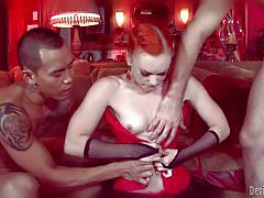 Slutty redhead gets her pussy licked @ this isn't twilight: breaking dawn the xxx parody part 2