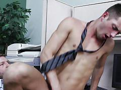 tattoo, big cock, cumshot, piercing, gay anal, gay, at work, self fucking, gay office, the gay office, men.com, colby jansen, jd phoenix