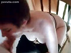 French wife blowjob