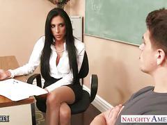 Busty sex teacher jaclyn taylor gets banged in classroom