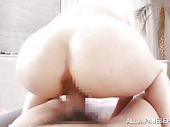 Naked japanese goes hardcore