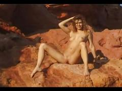 Edita s nude on beach