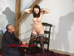 Emilys cruel pussy tortures and breast whipping of busty slavegirl in hardcore b
