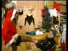 Christmas babe - anal present