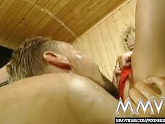 fetish, mature, euro, mmvfilms, old, european, mother, mom, german, amateur, facial, blowjob, cumshot, blonde, big-tits, housewife, sucking-cock, pissing