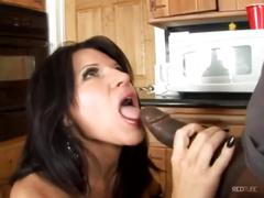 Wife fucked by a black cock