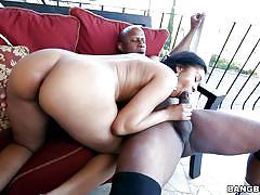 handjob, big ass, babe, ebony, pussy licking, pierced, muscled, dick sucking, bbc, brown bunnies, bangbros network, yasmine de leon